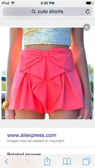 shorts pink or blue