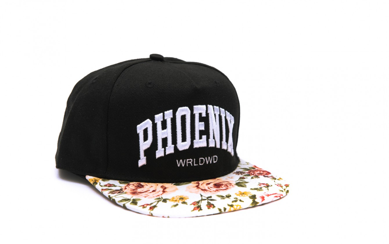 Phoenix Clothing Shop Snow White Snapback Cap