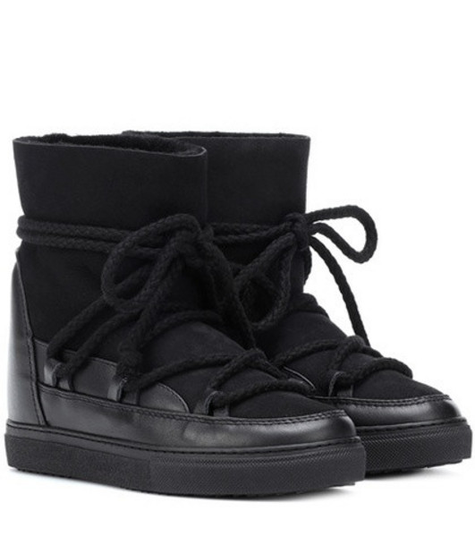 Inuikii Sneaker Classic ankle boots in black