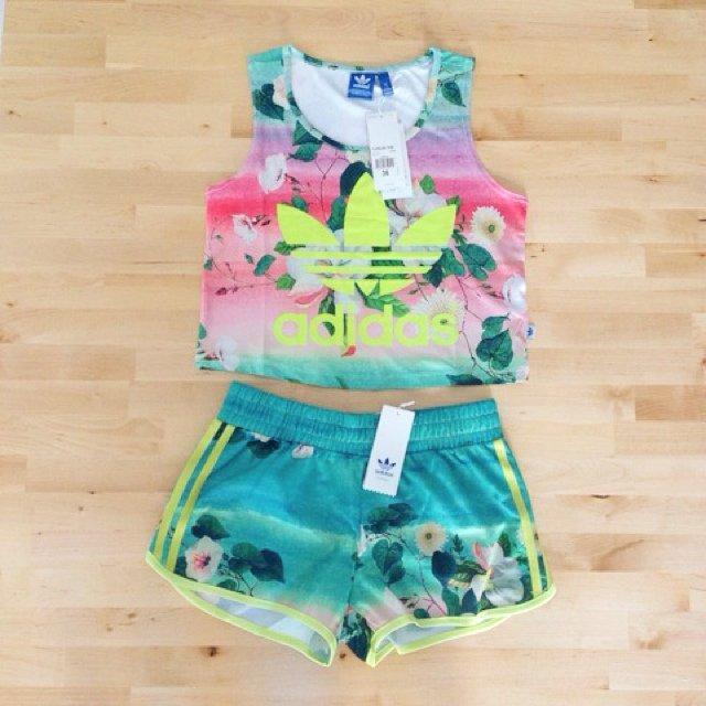 Adidas x farm company • brand ... | Diane Le | Depop