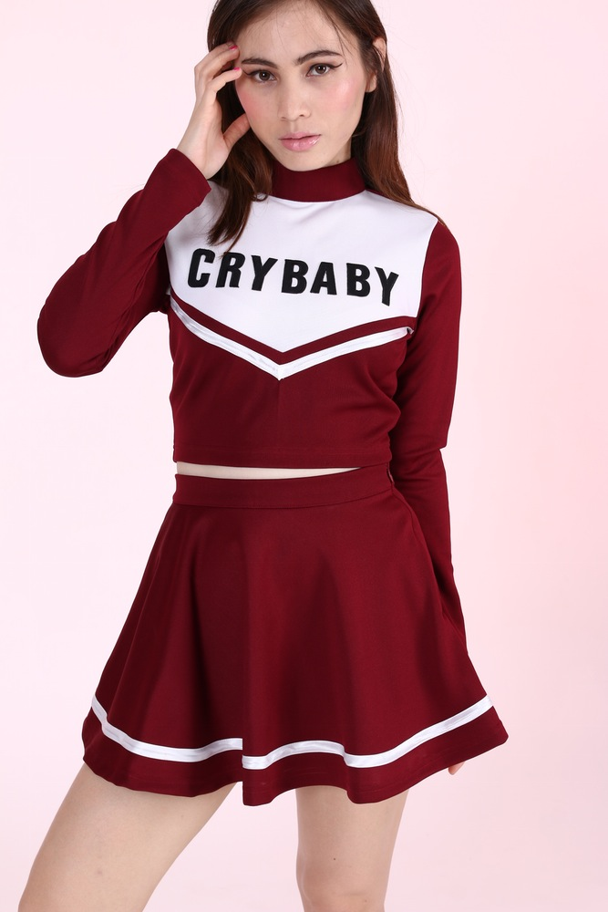 Made To Order- Team Crybaby Cheerleading Set.