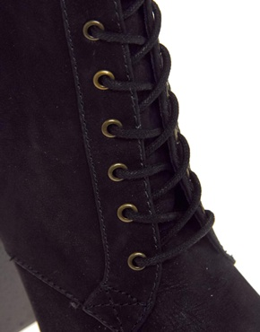 ALDO | Aldo Arlean Black Heeled Boot at ASOS