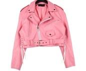 jacket,pink,leather jacket,pastel goth