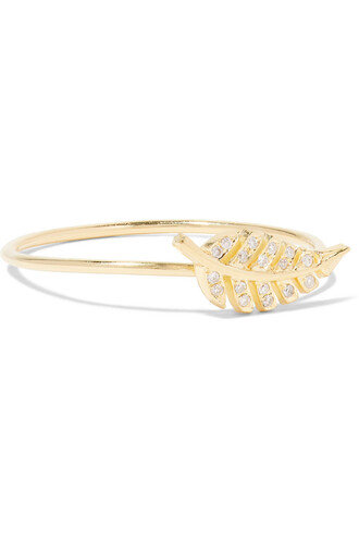 diamond ring mini ring gold jewels