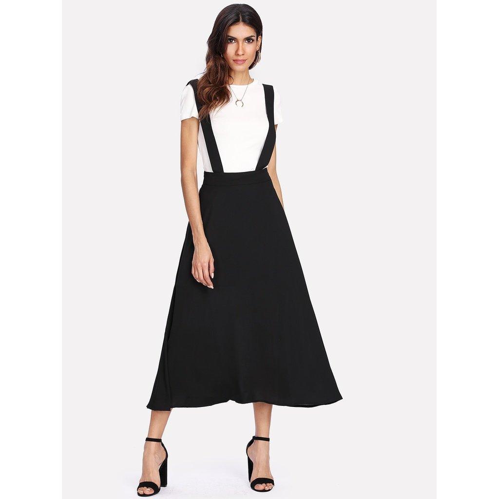 82303b8753a Thick Strap Pinafore Skirt