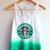 Starbucks Tie Dye Tank Top on Wanelo