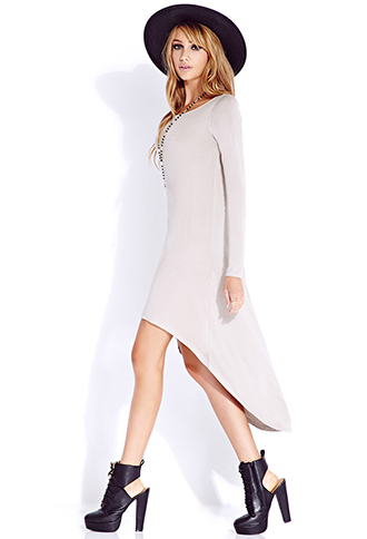 Easy High-Low Dress | FOREVER21 - 2000074644