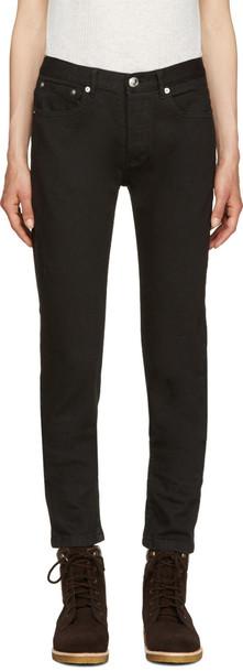 A.P.C. jeans black