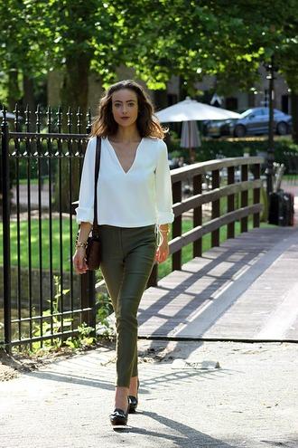 mode d'amour blogger shirt zara