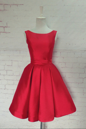 dress,sweet 16 dresses dress,aline,sleeveless,open back,bows,knee-length,bateau