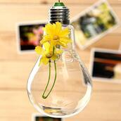 home accessory,bulb shaped transparent hanging flower,hydroponic plants glass vase,home decor
