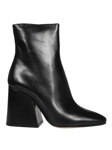 MAISON MARGIELA heel ankle boots black shoes
