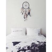 home accessory,bedroom,hipster,bedding,map print,beach house,wall decor,black waterpaint duvett,pillow,white