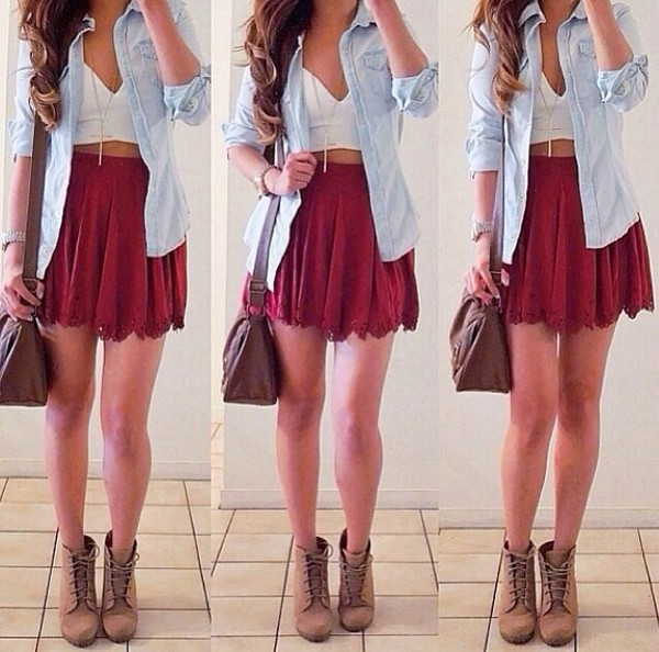 jacket cute dress tank top skirt shoes bag