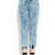GJ | Acid Washed Up Jean Joggers $47.20 in BLUE - Long Pants | GoJane.com