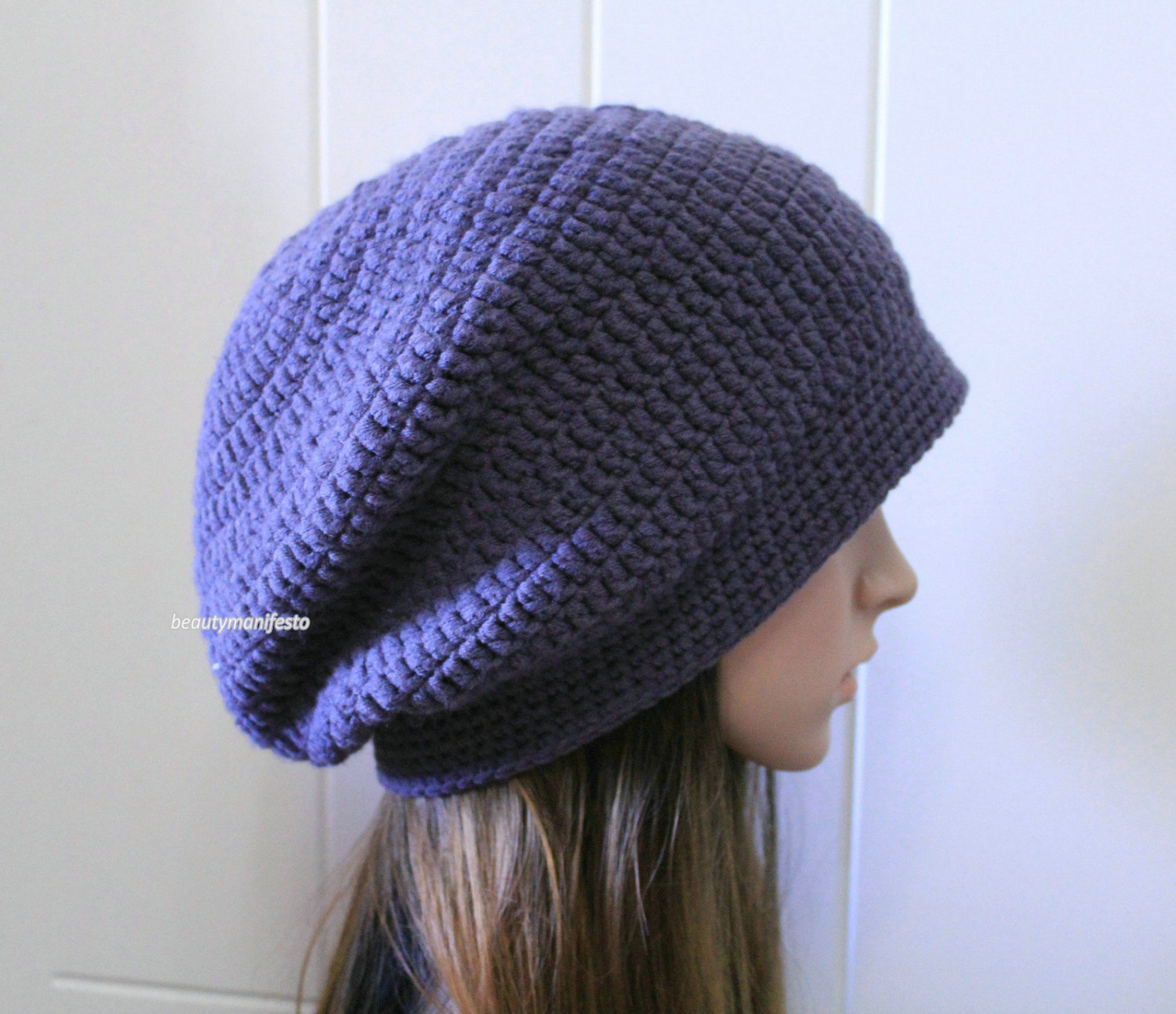 Mens Slouchy Beanie Crochet Patterns