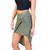 Olive Knotted Drape Skirt | Emprada