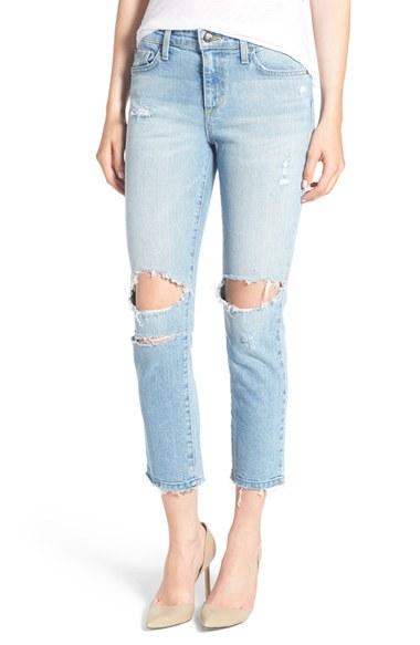 Joe's 'Ex-Lover' Crop Straight Leg Boyfriend Jeans (Margie) | Nordstrom