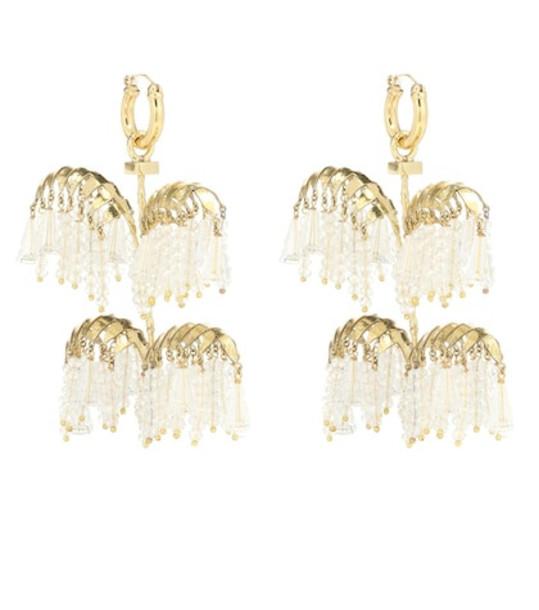 Ellery Genealogy XL Palm earrings in gold