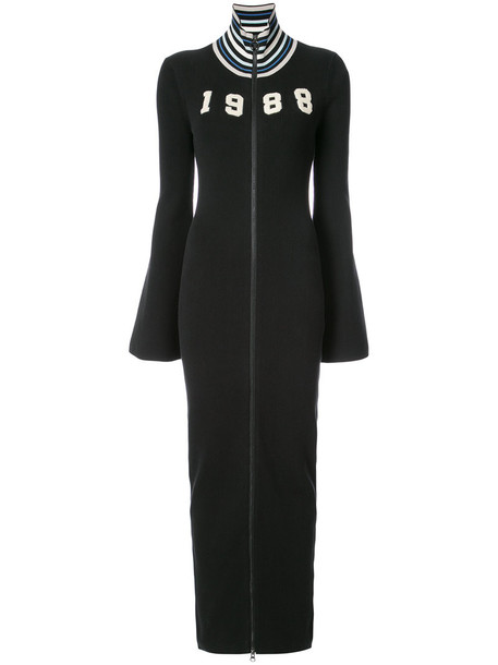 Fenty x Puma dress maxi dress maxi zip women spandex cotton black