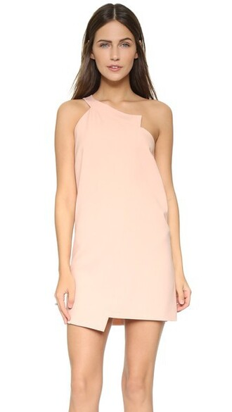 dress shift dress blush
