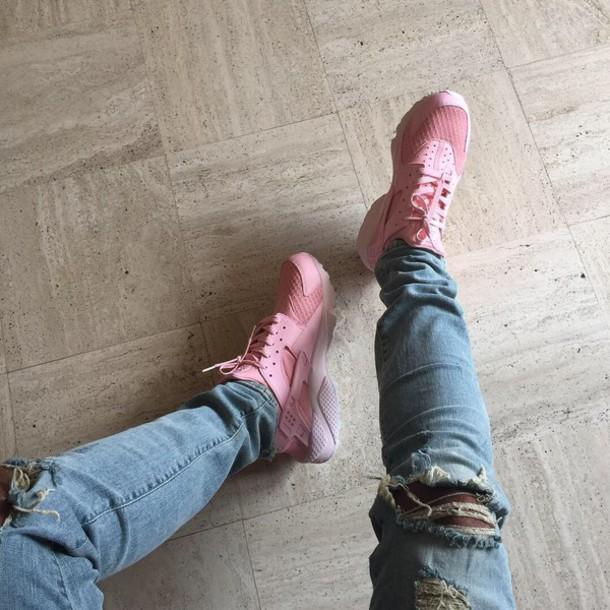 Shoes Urban Pastel Pink Nike Nike Hurraches Pink