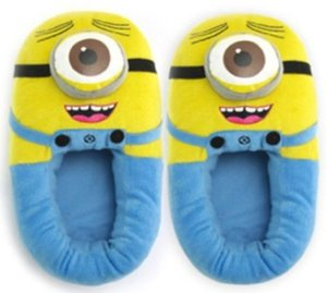 Amazon.com: Makarine Despicable Me Ii 3d Deluxe Plush Stuffed Doll Soft Toy Figure Minion Shoes: Health & Personal Care