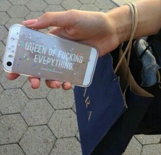 phone cover queen cute sparkle