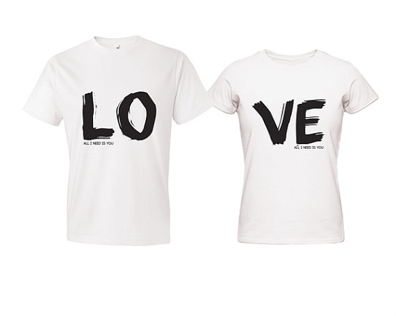 Designs For Couples Shirts