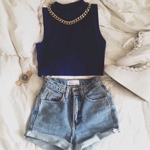 top shirt crop tops