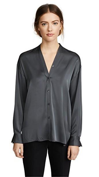 Vince blouse v neck top