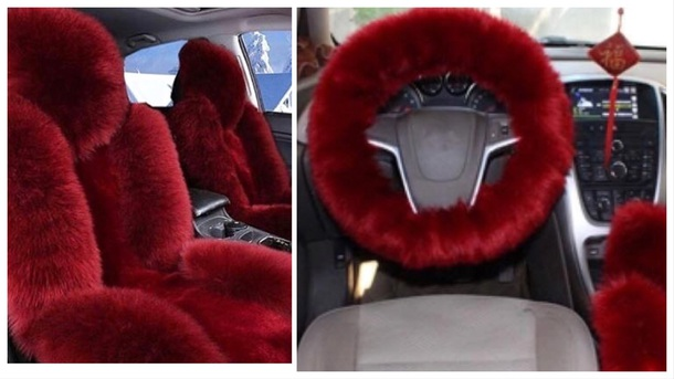 home accessory car car accessory faux fur fur