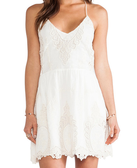 white dress sleeveless crochet boho gypsy festival festival dress coachella