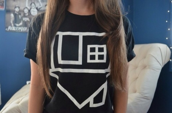 t-shirt shirt the neighbourhood the neighbourhood band t-shirt thenbhd black shirt house blouse