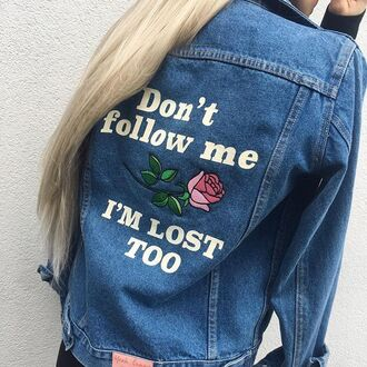 jacket yeah bunny denim rose 36683 denim jacket