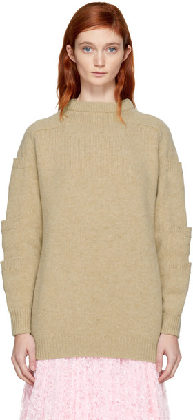 CHRISTOPHER KANE sweater beige