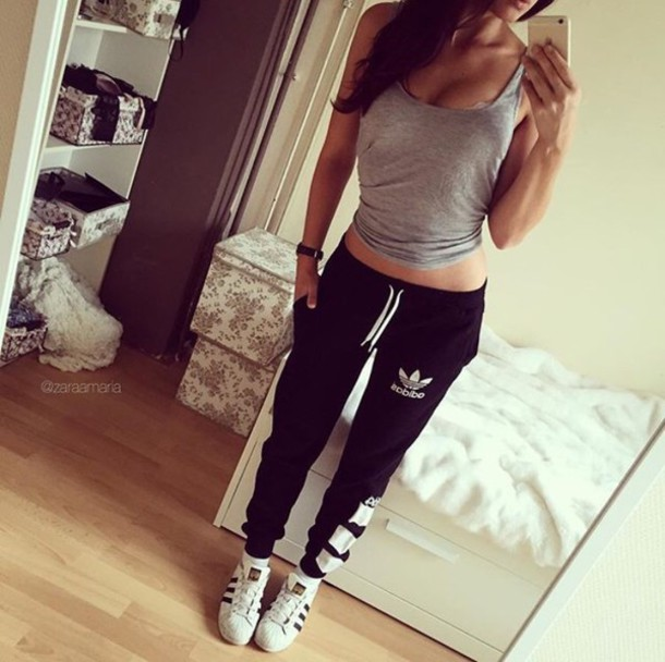 fa10c8ab pants adidas adidas originals adidas sweats adidas pants sweatpants joggers  joggers pants black sweatpants nike pants