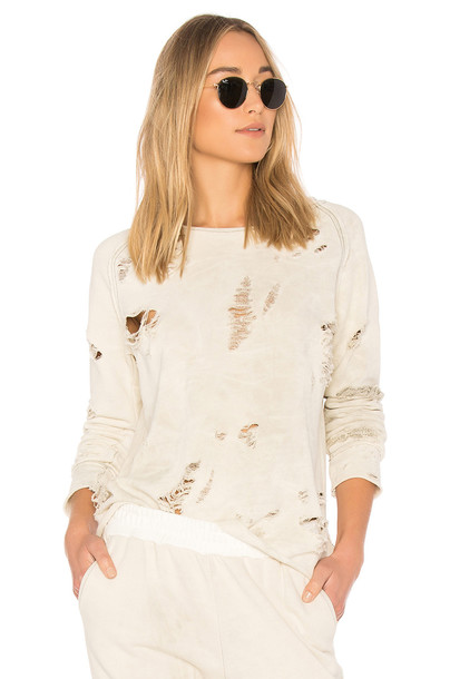 Generation Love sweatshirt cream sweater