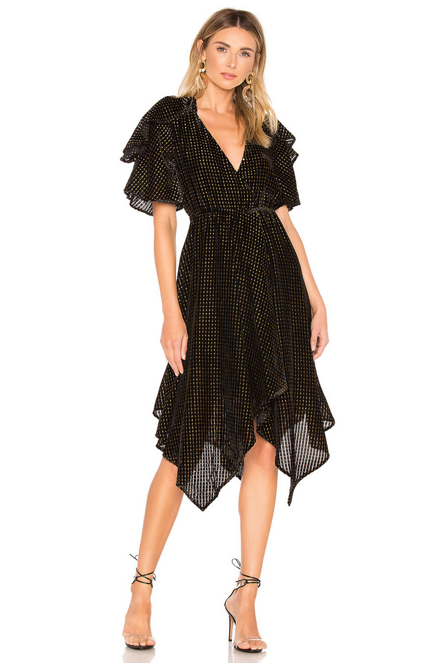 House of Harlow 1960 x REVOLVE Cecilio Dress in black