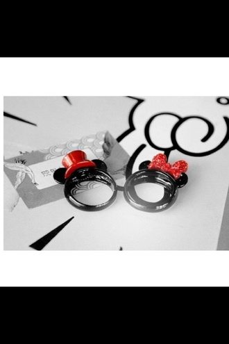 jewels ring disney mickey mouse