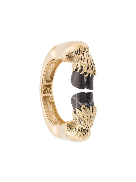 women gold black jewels