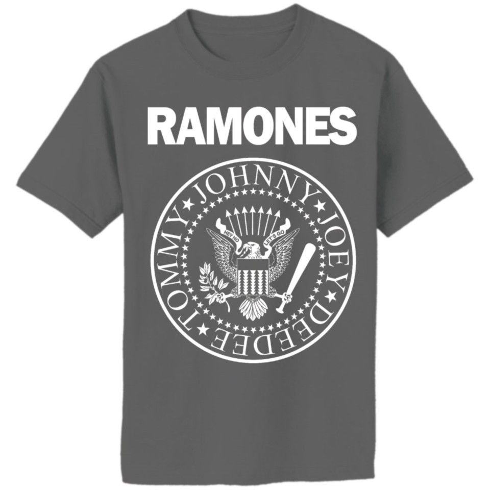 RAMONES SHIRT hey ho lets go
