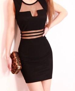 S M L XL XXL Plus Size 2014 New Black Embroidery Bodycon Dress OL Elegant Pencil Dress Women Work Wear Casual Summer Dress 9039 | Amazing Shoes UK