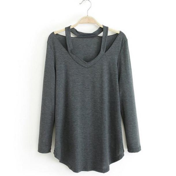 Shirt: t-shirt, blouse, fall outfits, soft, white, cute ...