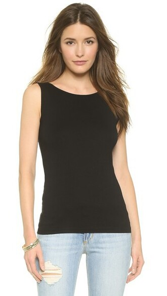 top sleeveless black