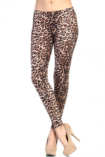 LoveMelrose.com From Harry & Molly | Leopard Print Leggings
