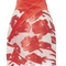 Red asymmetric canvas skirt by blumarine | moda operandi