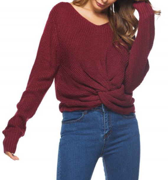 sweater girly burgundy burgundy sweater fall outfits jumper