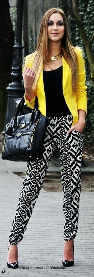 pants dressy print pants