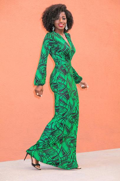 blogger dress shoes green dress maxi dress sandals